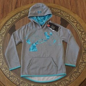 UNDER ARMOUR COLD GEAR (YS) GIRLS HOODIE